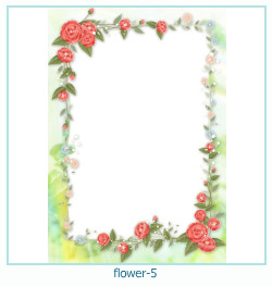 flower year year Photo frame 5