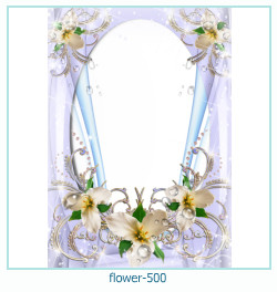 flower Photo frame 500