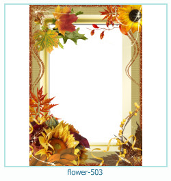 flower Photo frame 503