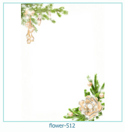 flower Photo frame 512