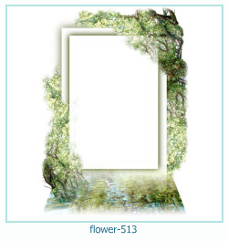 flower Photo frame 513
