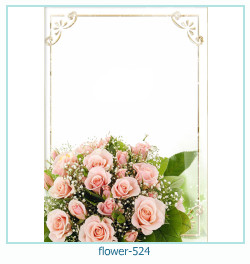 flower Photo frame 524