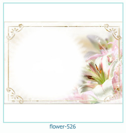 flower Photo frame 526