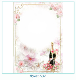 flower Photo frame 532