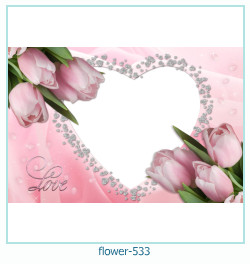 flower Photo frame 533