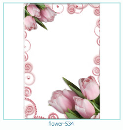 flower Photo frame 534