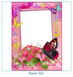 flower Photo frame 561