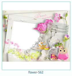flower Photo frame 562