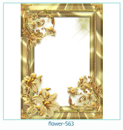 flower Photo frame 563