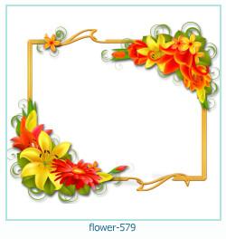 Marco de la foto de la flor 579