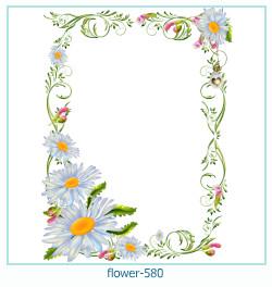 Marco de la foto de la flor 580