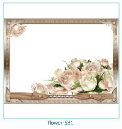 Marco de la foto de la flor 581