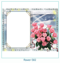 flower Photo frame 582