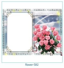 Marco de la foto de la flor 582