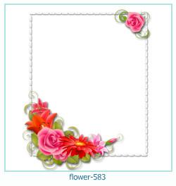 Marco de la foto de la flor 583