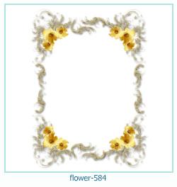 Marco de la foto de la flor 584