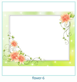 flor ano 6 ano Photo Frame