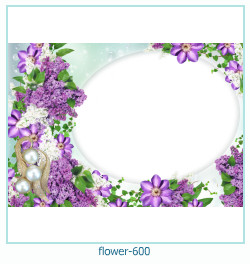flower Photo frame 600