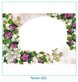 flower Photo frame 601