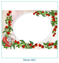 flower Photo frame 603