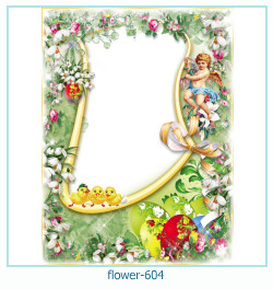 flower Photo frame 604