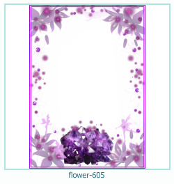 flower Photo frame 605