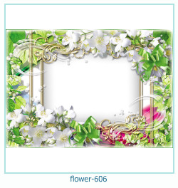 flower Photo frame 606