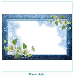 Marco de la foto de la flor 607