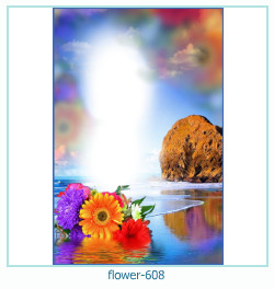 Marco de la foto de la flor 608