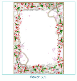 flower Photo frame 609