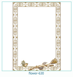 flower Photo frame 630