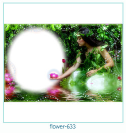 flower Photo frame 633