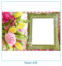 Blume Fotorahmen 639