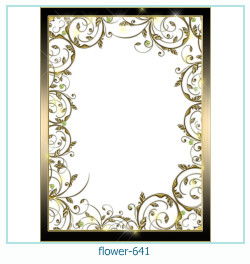 flower Photo frame 641