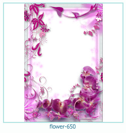 flower Photo frame 650