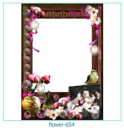 flower Photo frame 654