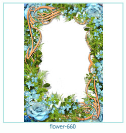 flower Photo frame 660