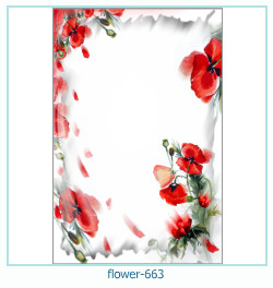 flower Photo frame 663