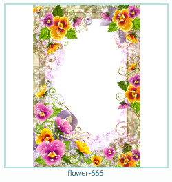 flower Photo frame 666