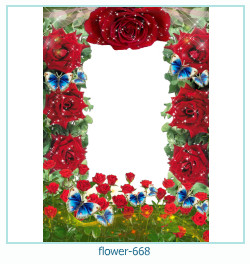 flower Photo frame 668