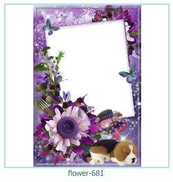 flower Photo frame 681