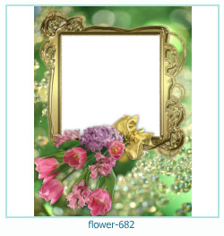 flower Photo frame 682
