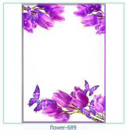 Blume Fotorahmen 689