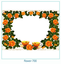 flower Photo frame 700