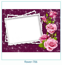 flower Photo frame 706