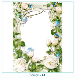 flower Photo frame 714