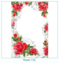 flower Photo frame 716