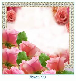 Blume Fotorahmen 720