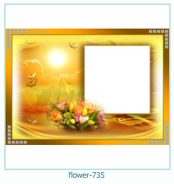flower Photo frame 735