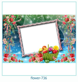 flower Photo frame 736